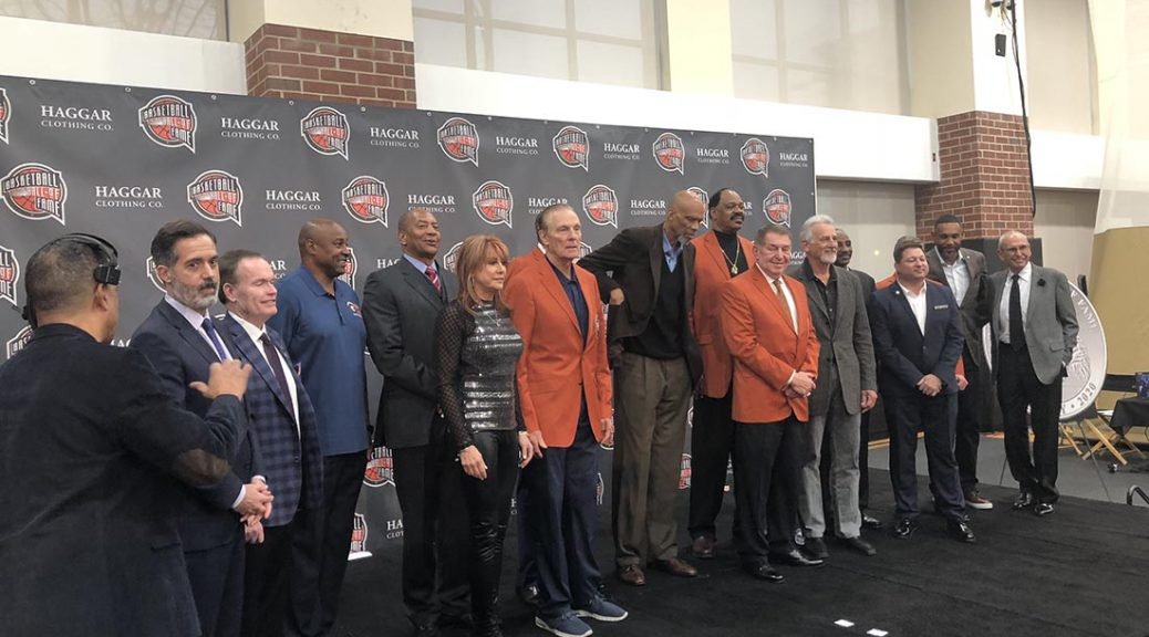 2019 NBA Hall of Fame Presser