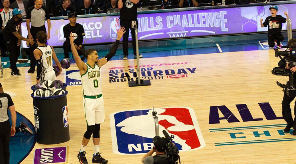 Jayson Tatum NBA ASW 2019 Skills Challenge