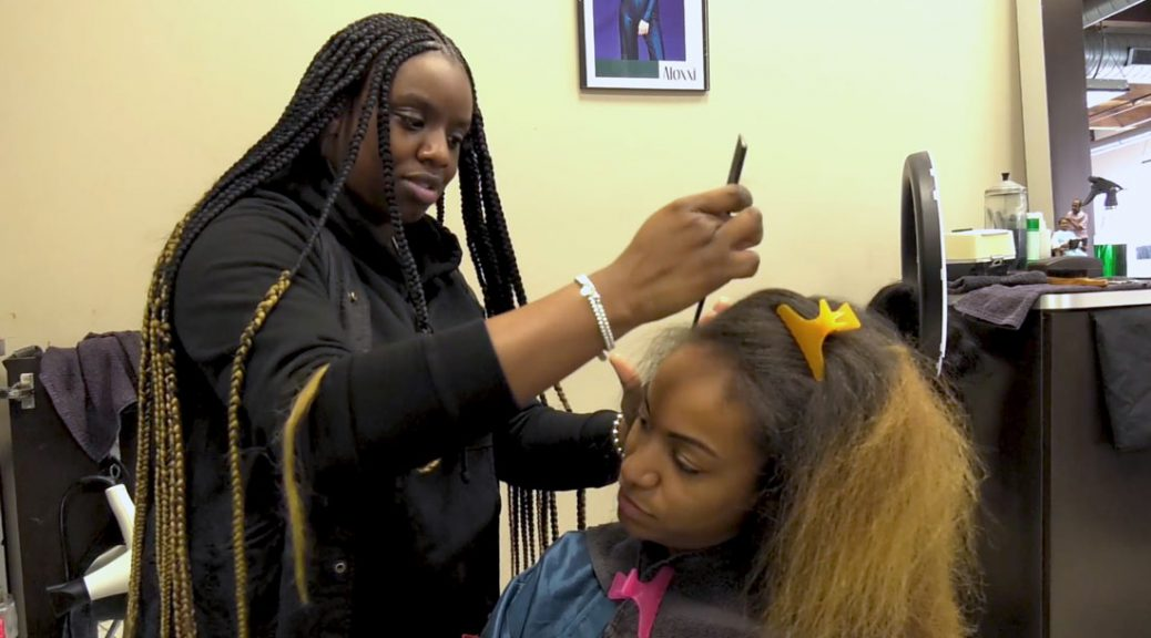 Natural Hair being embraced among African-American women